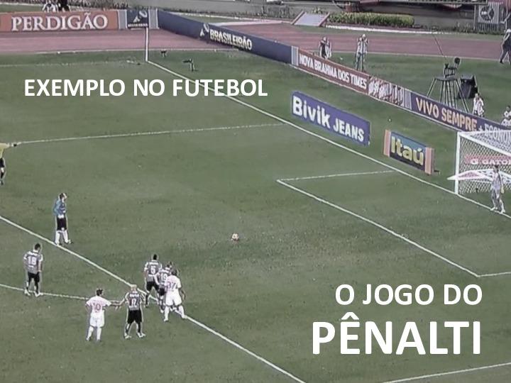 Exemplo no futebol